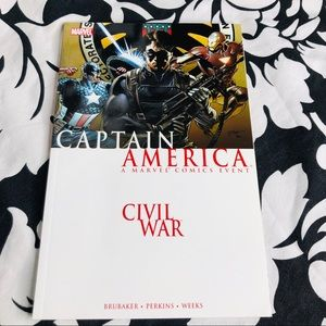 5 for $25| Captain America Civil War (2007, TPB)
